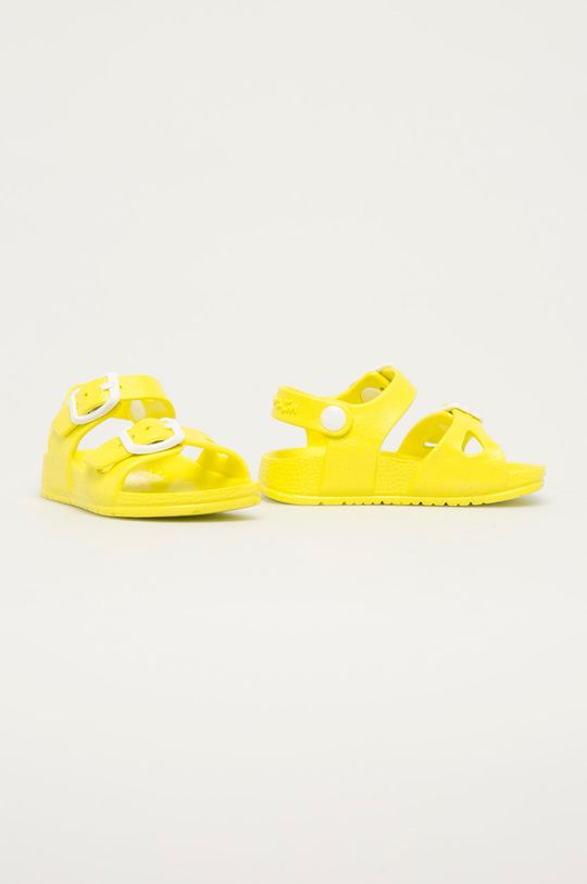 Garvalin - Dětské sandály jasně žlutá