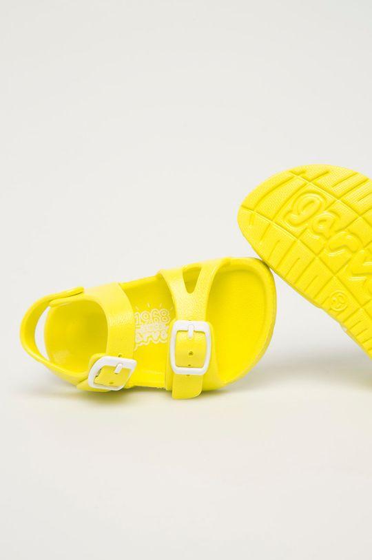 jasně žlutá Garvalin - Dětské sandály