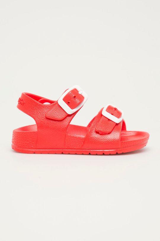 czerwony Garvalin - Sandały dziecięce Dziecięcy