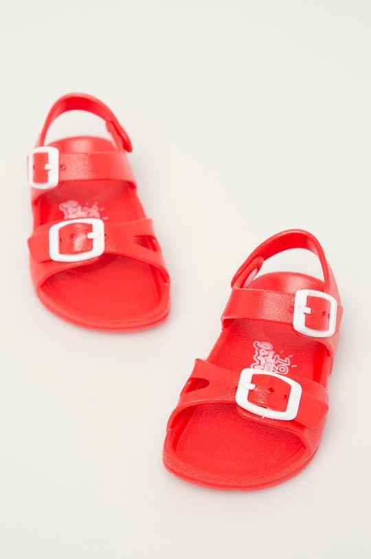 Garvalin - Sandały dziecięce czerwony