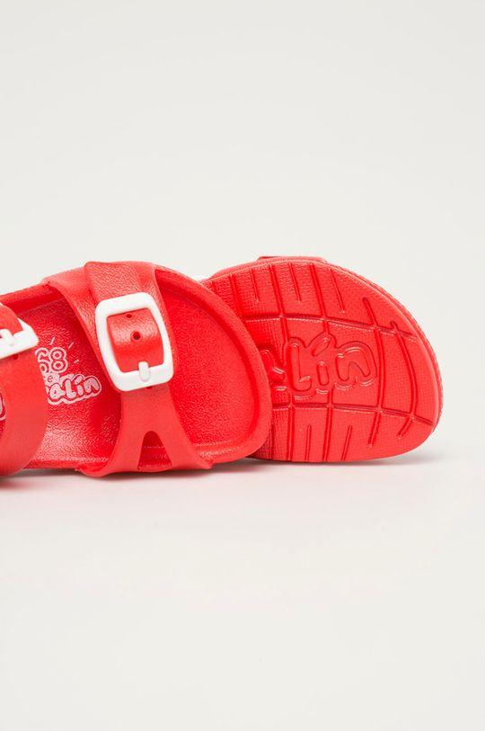 czerwony Garvalin - Sandały dziecięce
