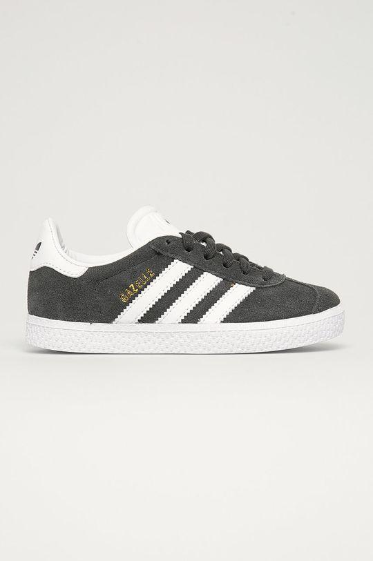 sivá adidas Originals - Detské topánky Gazelle Detský