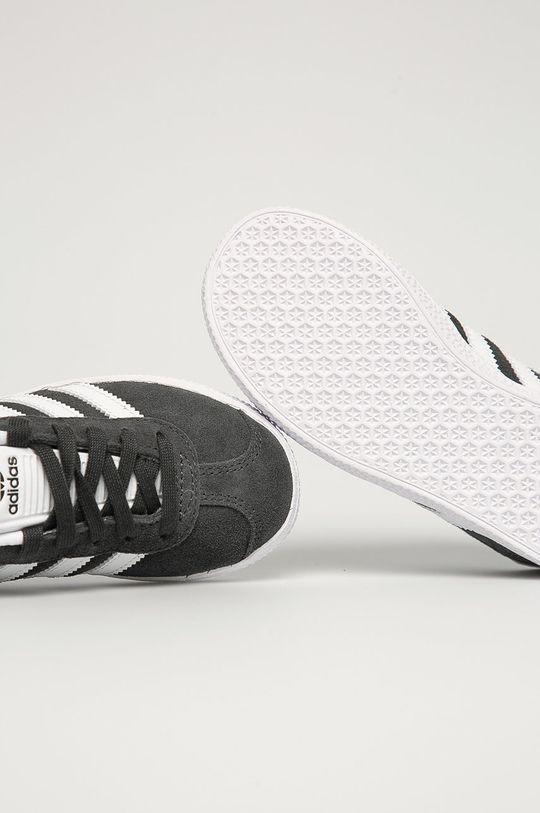 sivá adidas Originals - Detské topánky Gazelle