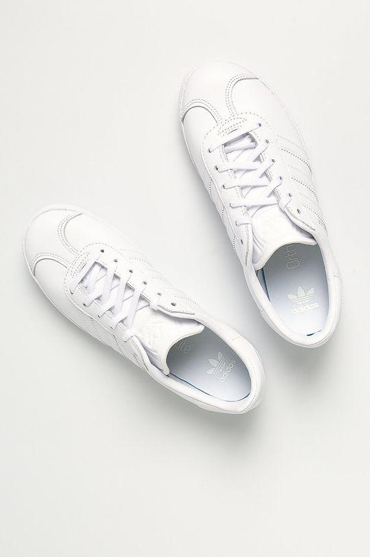 bílá adidas Originals - Dětské boty Gazelle