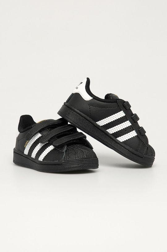 adidas Originals - Buty dziecięce Superstar CF I czarny