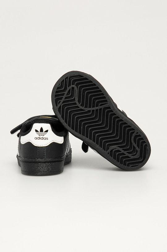 adidas Originals - Buty dziecięce Superstar CF I Cholewka: Materiał syntetyczny, Skóra naturalna, Wnętrze: Materiał syntetyczny, Podeszwa: Materiał syntetyczny