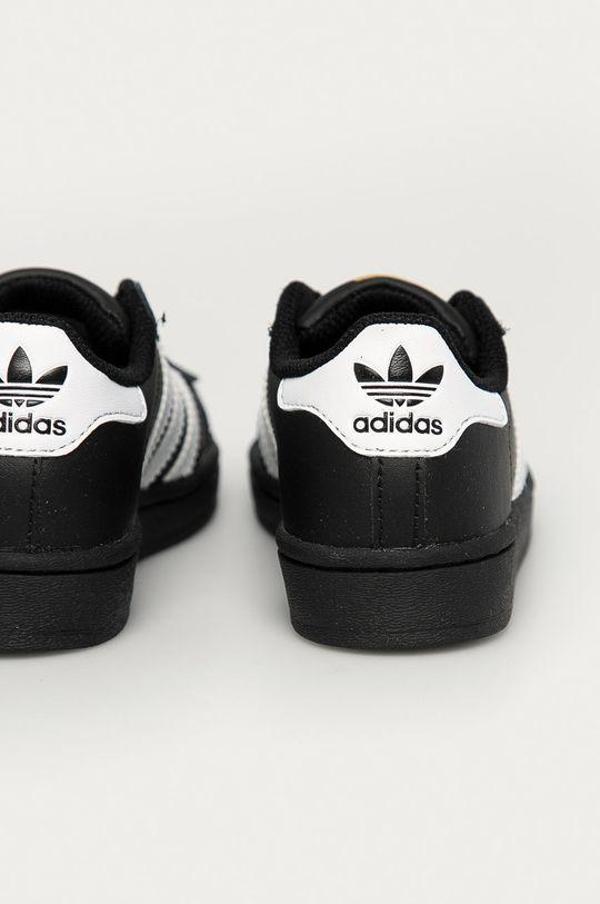 adidas Originals - Dětské boty Superstar  Svršek: Umělá hmota, Přírodní kůže Vnitřek: Umělá hmota Podrážka: Umělá hmota