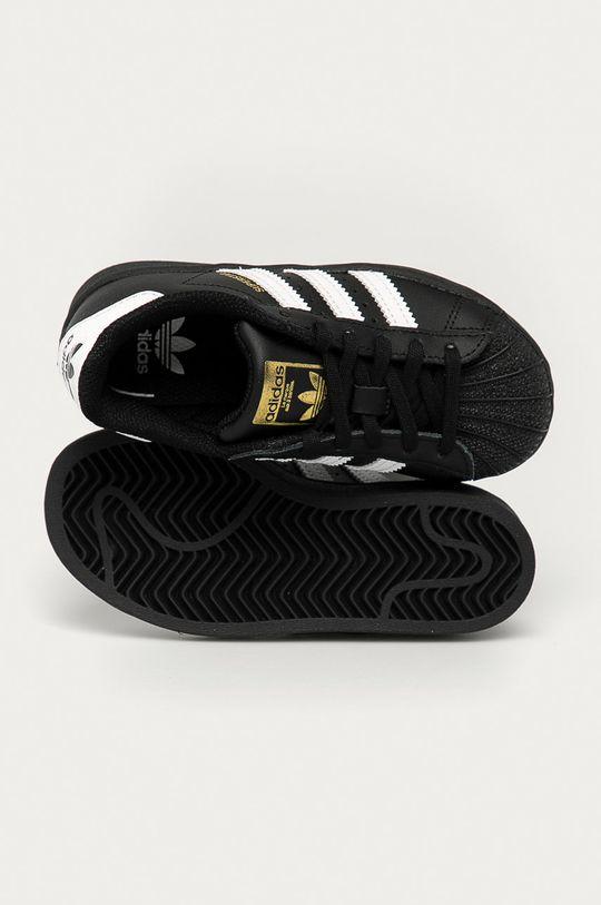 černá adidas Originals - Dětské boty Superstar