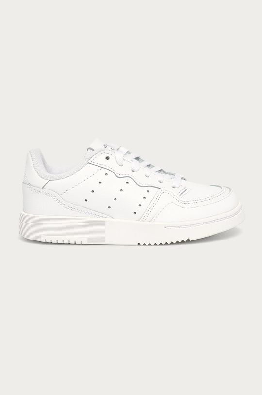 biela adidas Originals - Detské topánky Supercourt Detský