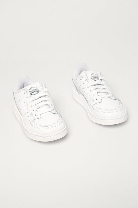 adidas Originals - Detské topánky Supercourt biela