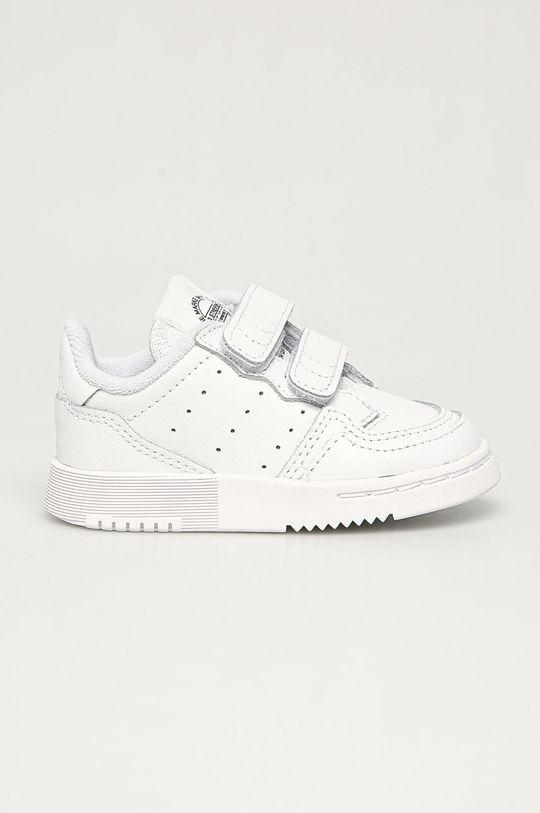 biały adidas Originals - Buty dziecięce Supercourt CF Dziecięcy