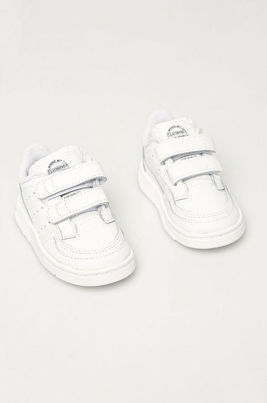 adidas Originals - Buty dziecięce Supercourt CF biały