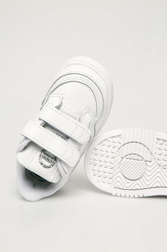 biały adidas Originals - Buty dziecięce Supercourt CF