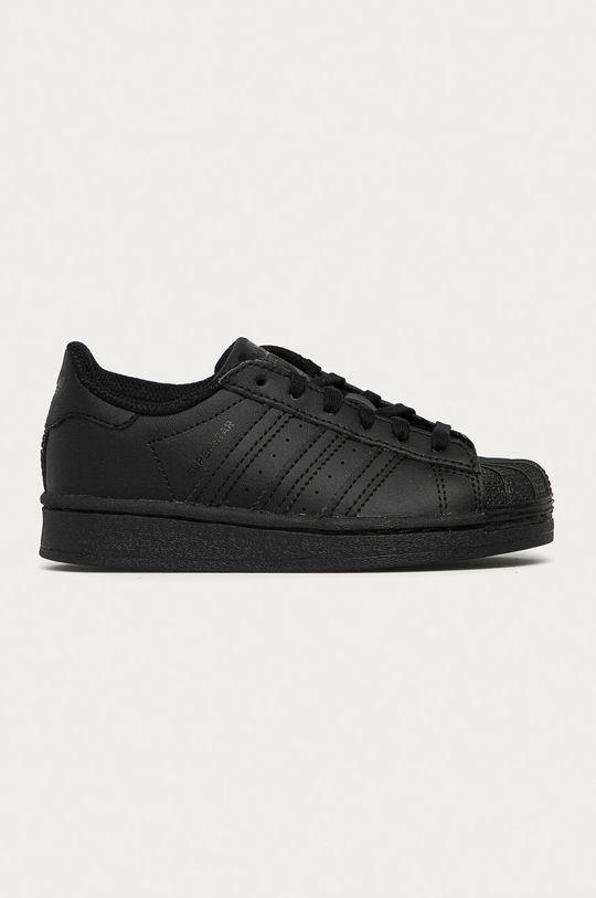 czarny adidas Originals - Buty dziecięce Superstar Dziecięcy