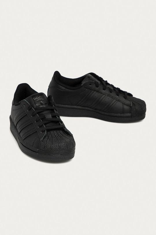 adidas Originals - Buty dziecięce Superstar czarny