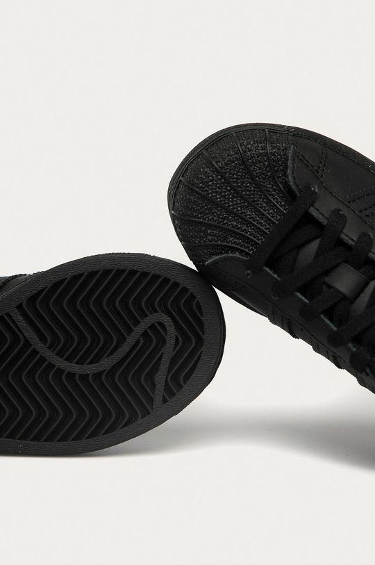 czarny adidas Originals - Buty dziecięce Superstar