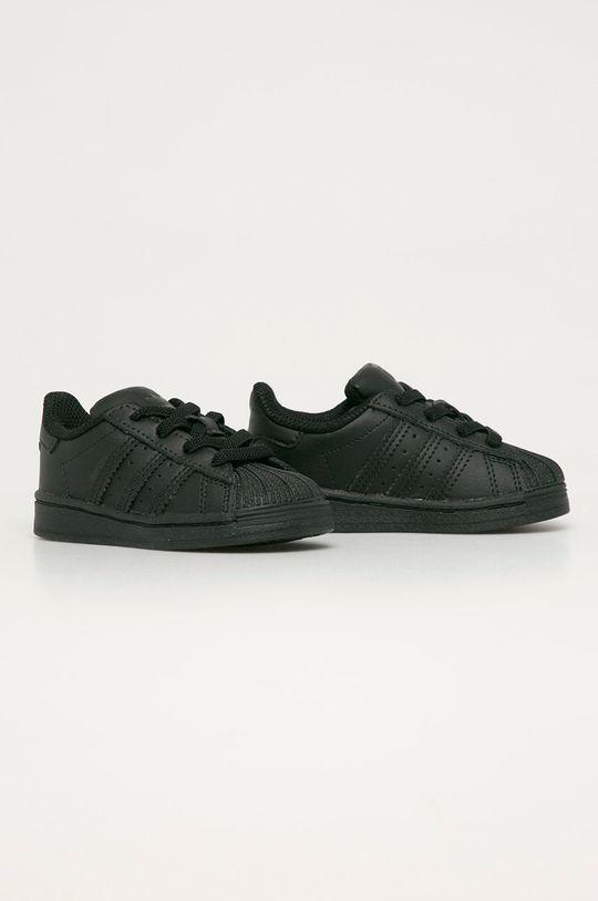 adidas Originals - Detské topánky Superstar EL čierna