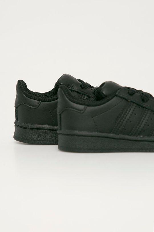 adidas Originals - Detské topánky Superstar EL  Zvršok: Syntetická látka, Prírodná koža Vnútro: Syntetická látka Podrážka: Syntetická látka