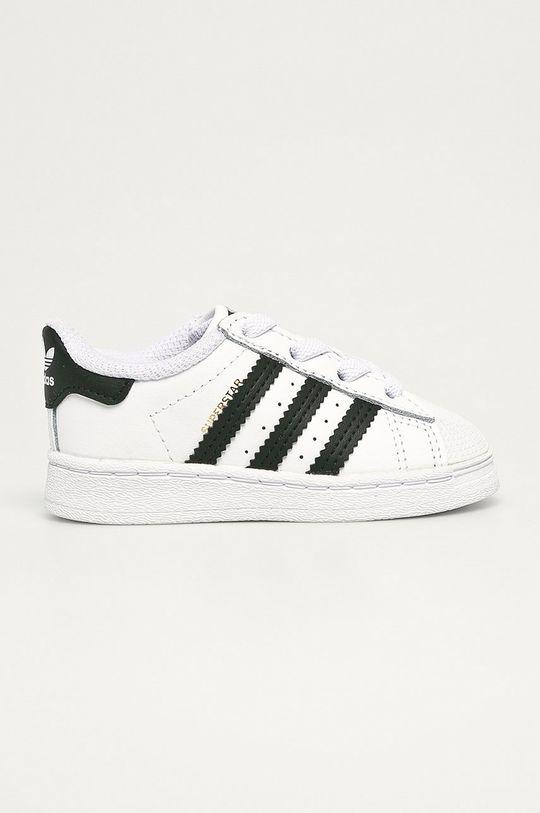 bílá adidas Originals - Dětské boty Suerstar EL I Dětský