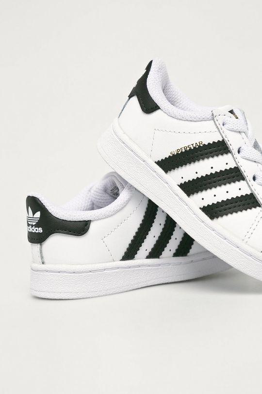 adidas Originals - Dětské boty Suerstar EL I  Svršek: Umělá hmota, Přírodní kůže Vnitřek: Textilní materiál Podrážka: Umělá hmota
