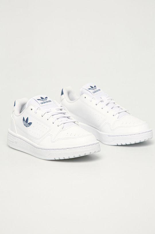 adidas Originals - Dětské boty Ny 90 J bílá