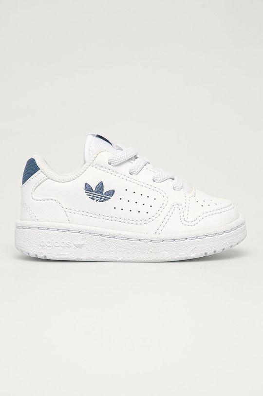 biela adidas Originals - Detské topánky NY 90 ELI Detský