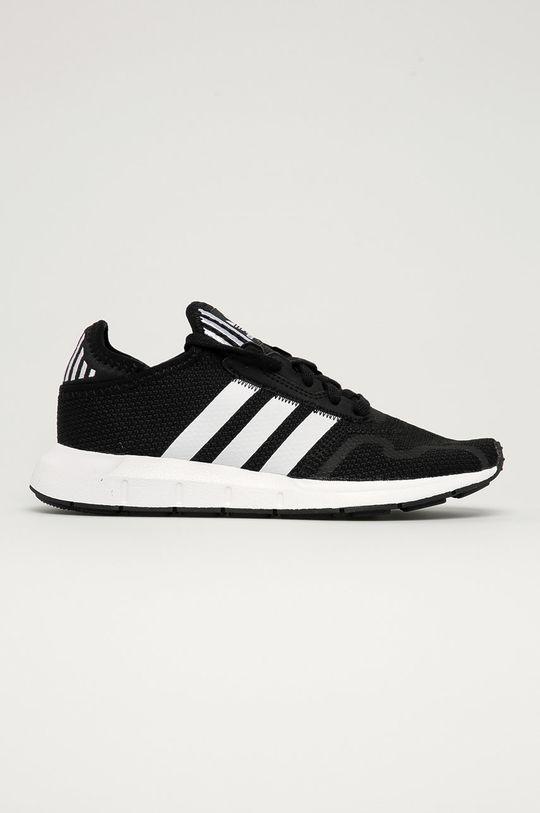 černá adidas Originals - Dětské boty Swift Run X J Dětský