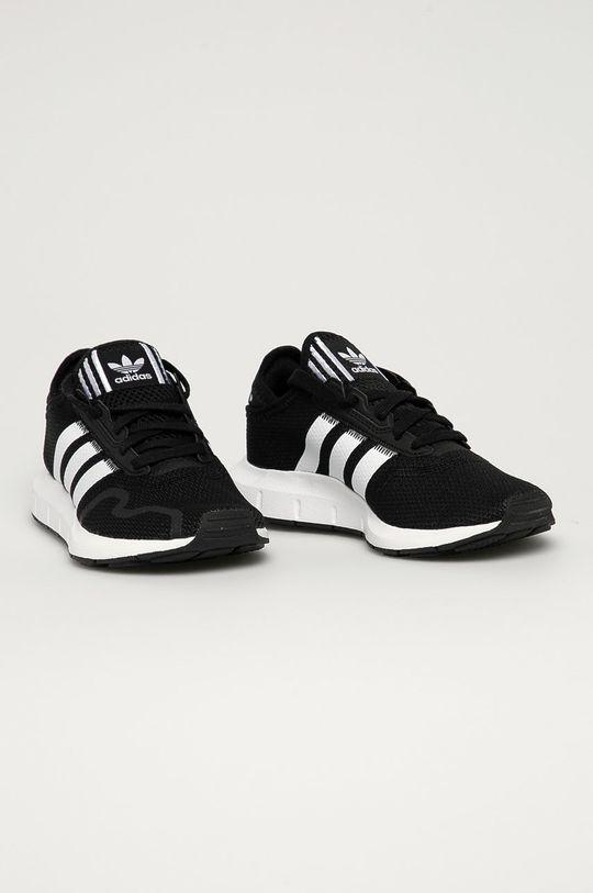 adidas Originals - Dětské boty Swift Run X J černá