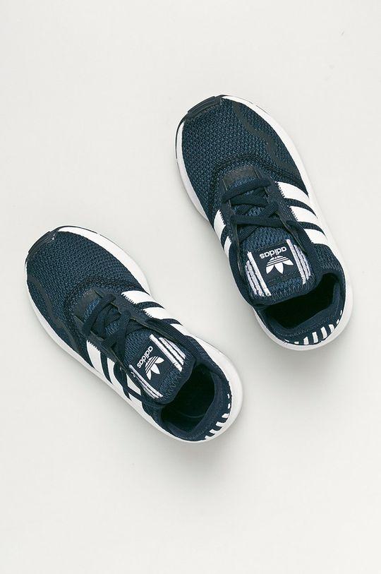 tmavomodrá adidas Originals - Detské topánky Swift Run X C