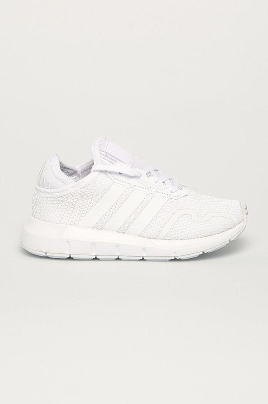 biały adidas Originals - Buty dziecięce Swift Run X Dziecięcy