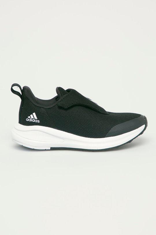 čierna adidas Performance - Detské topánky FortaRun AC Detský