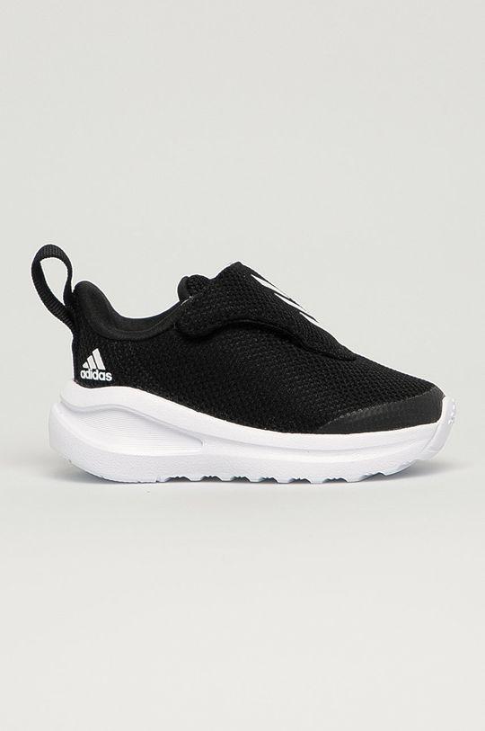 čierna adidas Performance - Detské topánky FortaRun AC I Detský
