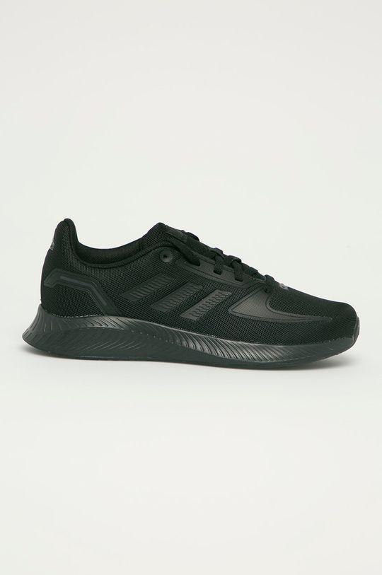 čierna adidas - Detské topánky RunFalcon 2.0 Detský