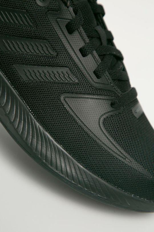 čierna adidas - Detské topánky RunFalcon 2.0
