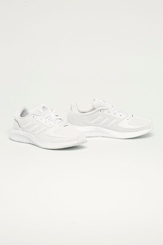 adidas - Buty dziecięce Runfalcon 2.0 K biały
