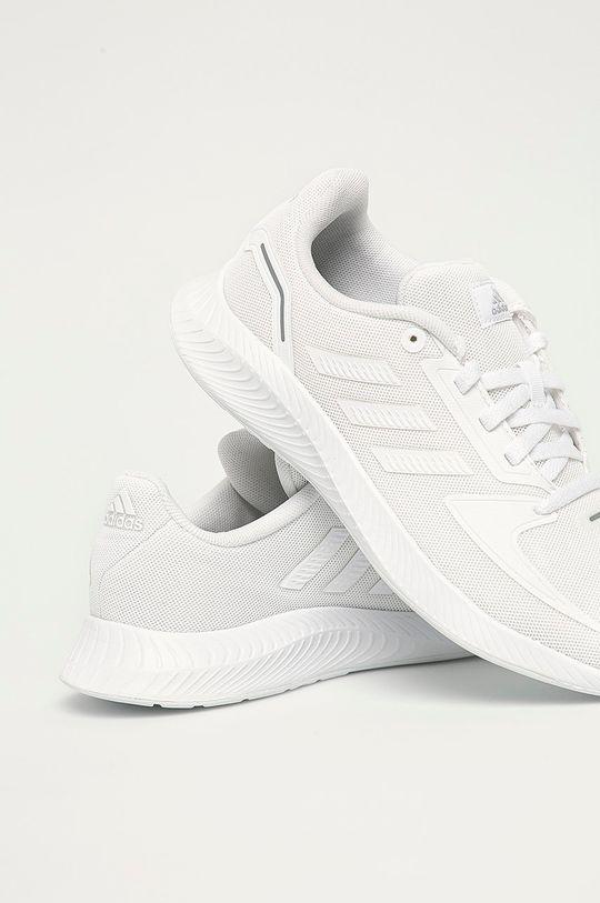 biały adidas - Buty dziecięce Runfalcon 2.0 K