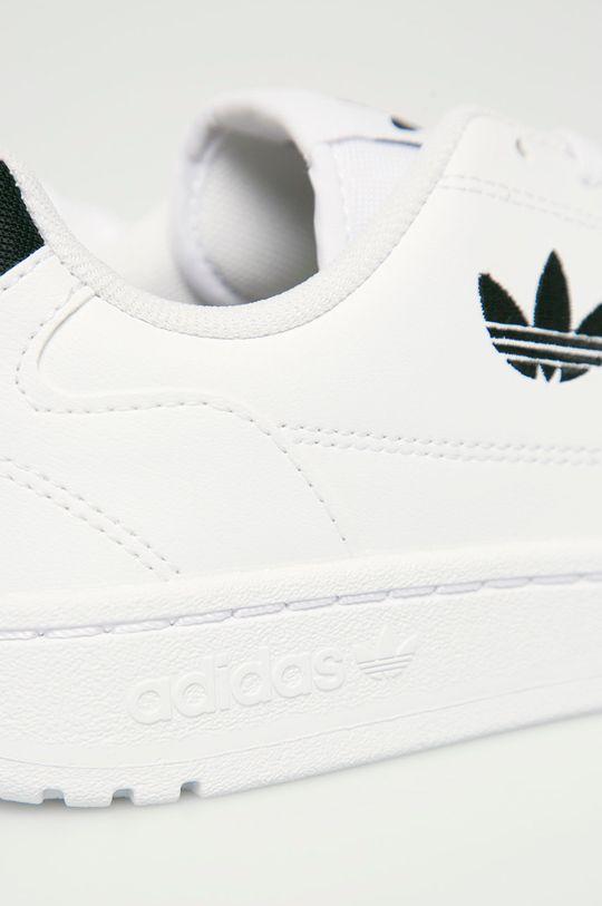 bílá adidas Originals - Dětské boty Ny 90 J