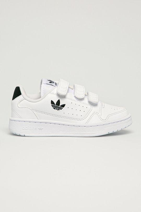 biały adidas Originals - Buty dziecięce NY 90 CF Dziecięcy