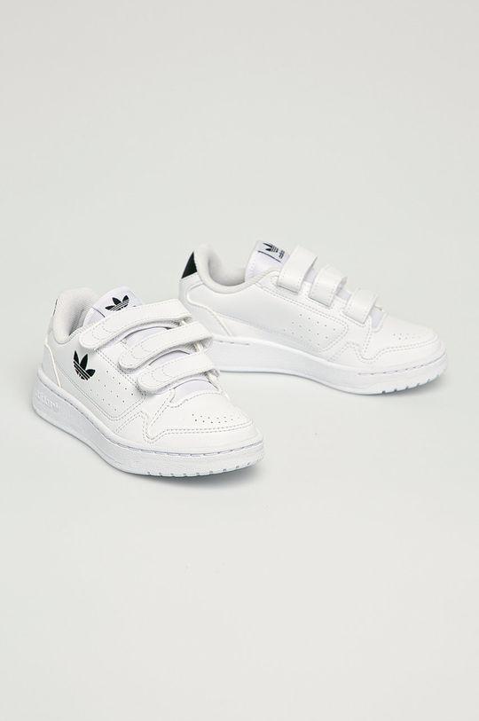 adidas Originals - Buty dziecięce NY 90 CF biały