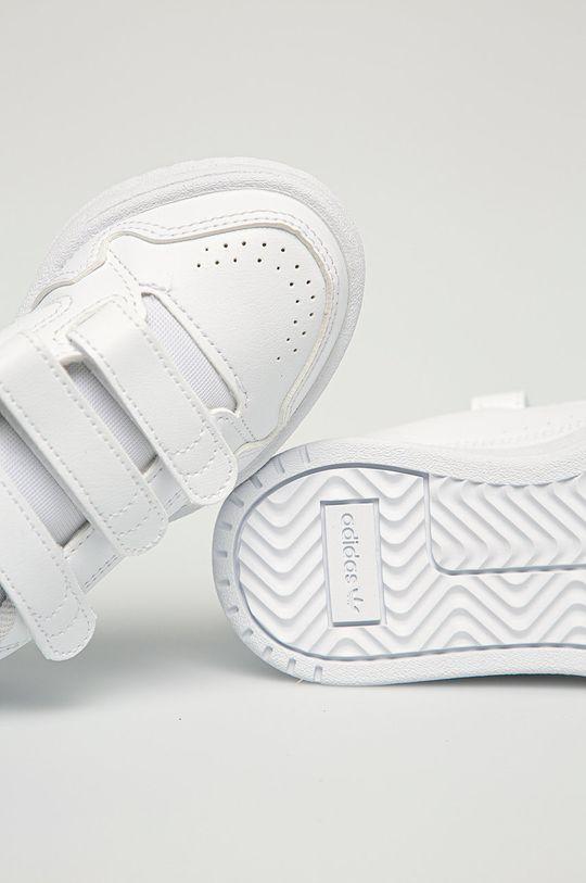 biały adidas Originals - Buty dziecięce NY 90 CF