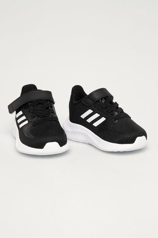 adidas - Детские ботинки Runfalcon 2.0 чёрный
