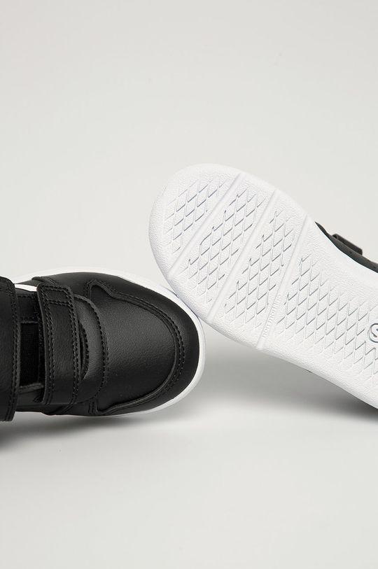 czarny adidas - Buty dziecięce Tensaur