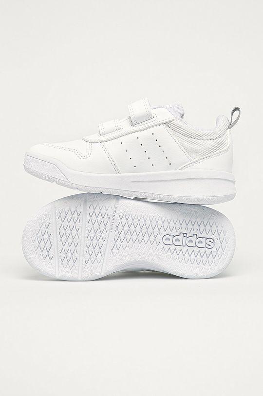 alb adidas - Pantofi copii Tensaur C