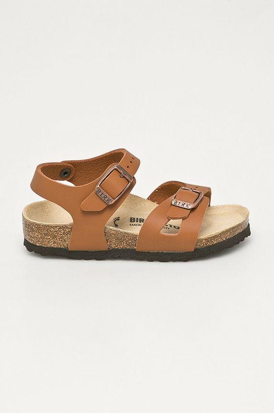 brązowy Birkenstock - Sandały dziecięce Rio Dziecięcy