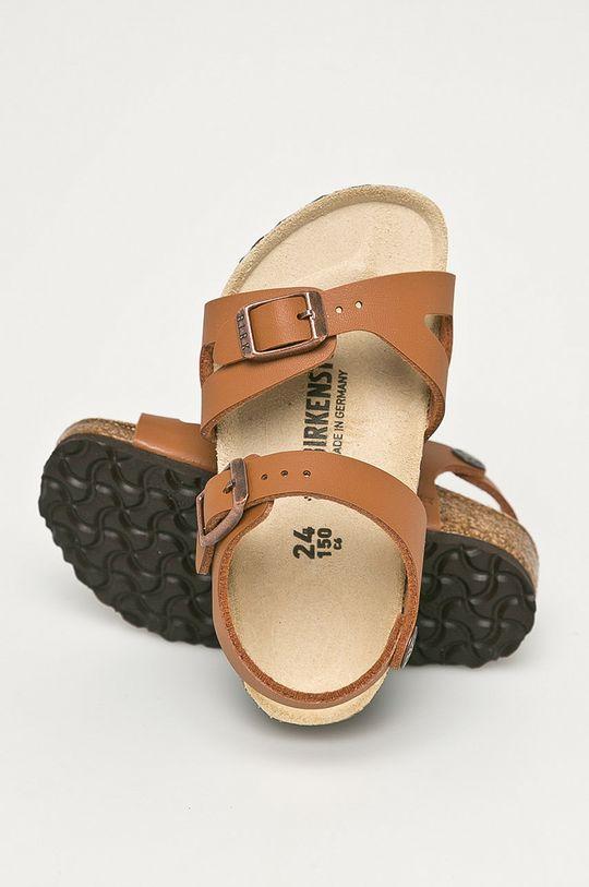 brązowy Birkenstock - Sandały dziecięce Rio