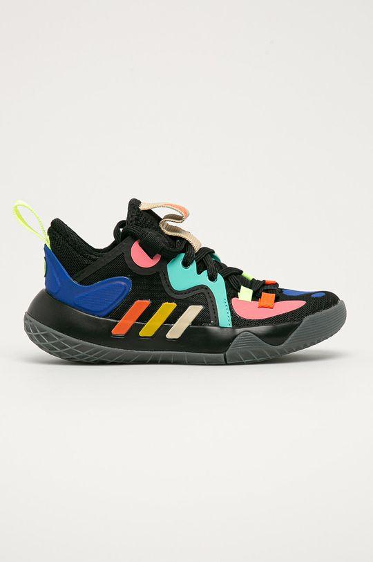 černá adidas Performance - Dětské boty Harden Stepback 2 Dětský