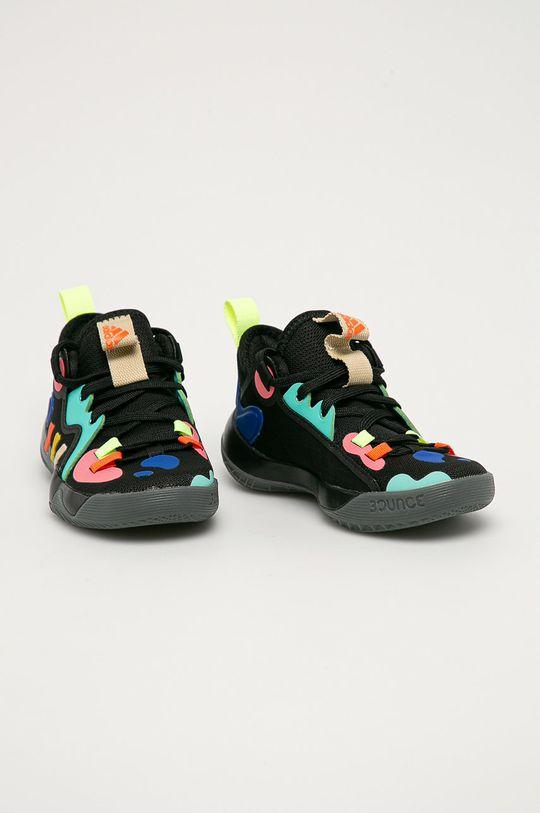 adidas Performance - Dětské boty Harden Stepback 2 černá