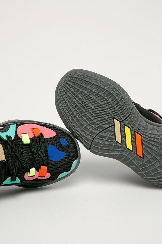 černá adidas Performance - Dětské boty Harden Stepback 2