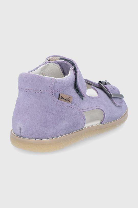 Mrugała - Sandale din piele intoarsa pentru copii  Gamba: Piele naturala Interiorul: Piele naturala Talpa: Material sintetic