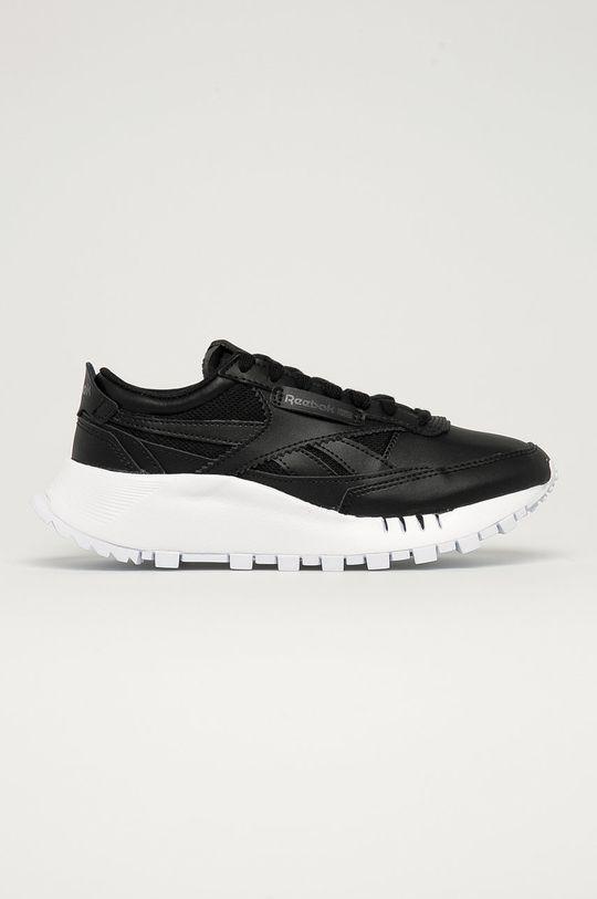 černá Reebok Classic - Dětské kožené boty CL Legacy Dětský